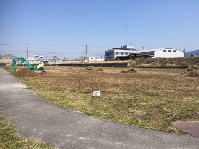 富士運輸の造成工事
